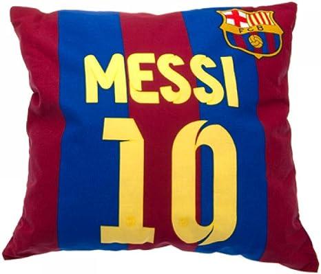 Cojín de FC Barcelona oficial, de Messi, un gran regalo para los fanáticos del fútbol, idea para regalo: Amazon.es: Deportes y aire libre