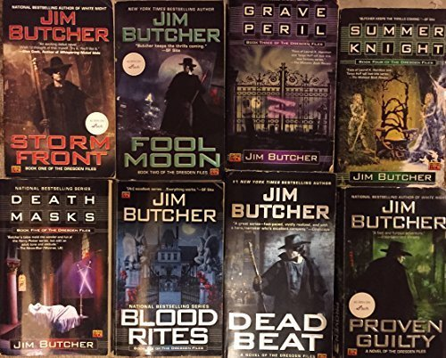 Dresden Files by Jim Butcher Novel Set Books 1-16 (Dead Beat By Jim Butcher compare prices)