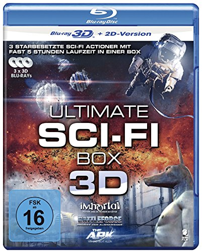 Ultimate Sci-Fi Collection - 3-Disc Set ( Immortal (Ad Vitam) (Immortel (ad vitam)) / Independence Daysaster / Stranded ) (3D & 2D) [ NON-USA FORMAT, Blu-Ray, Reg.B Import - Germany ]