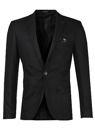 Cipo   Baxx Herren Sakko Blazer Jacket CJ115 schwarz (52, schwarz ... cb9e1a4563