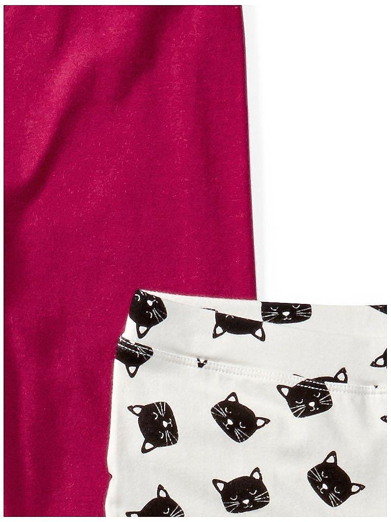 Spotted Zebra Girls 4-Pack Leggings XS Meow