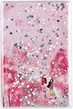 Amazon Com A5 Japanese Style Cherry Blossom Printing Notebook