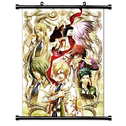 Kamigami no Asobi Anime Fabric Wall Scroll Poster Wp Kamigami no Asobi- 1 L
