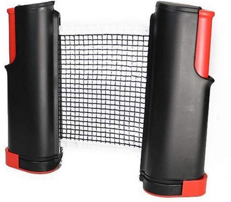 8 pelotas de ping pong, 4 palas, 4 raquetas de ping pong, 1 red retráctil, palas de ping pong (juego de pines) para adultos, niños, familia y hogar, interior