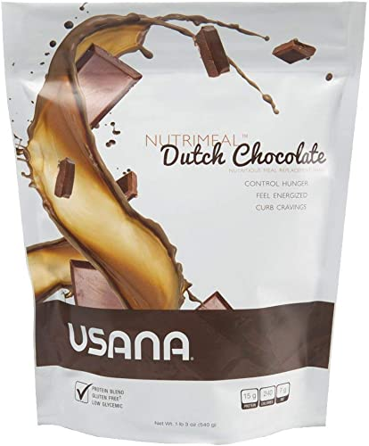 Usana Nutrimeal Shake Formulated Dutch Chocolate