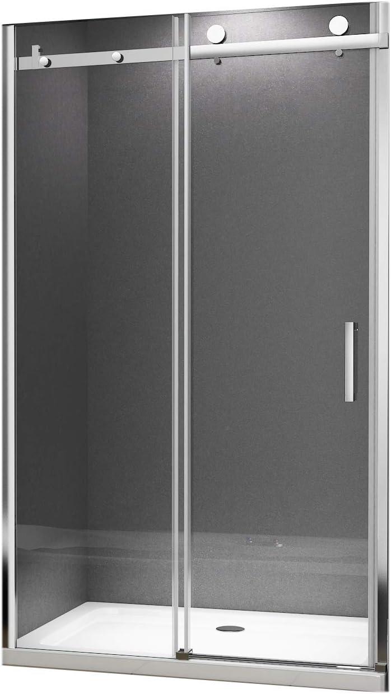 8 mm moderno sistema di scorrevole Porta nicchia Porta scorrevole Porta della doccia Victoria 110 x 195 cm