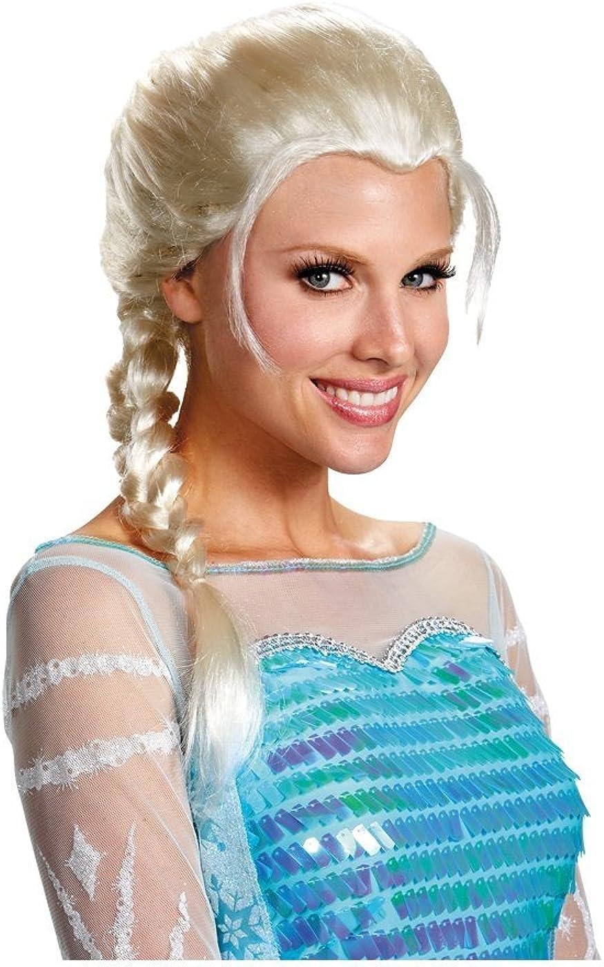 Adult Elsa Wig Frozen Costume Wig Disney Princess Wig 83206