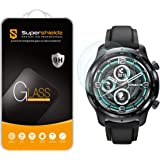 (2 Pack) Supershieldz Designed for TicWatch (Pro 3 GPS) Tempered Glass Screen Protector, Anti Scratch, Bubble Free