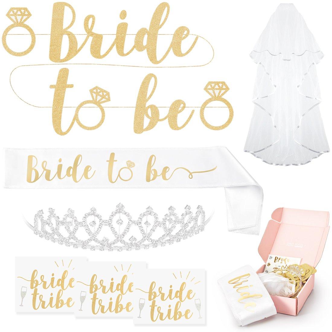 Amazon.com: xo, Fetti Bachelorette Party Bride To Be Decorations Kit ...