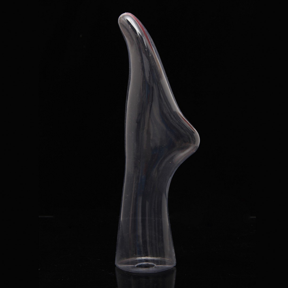 WellieSTR 1 Grade Transparent Female Mannequin Feet with Stand Mannequin Sock and Shoe Display Foot.Hosiery//Sox//Sock Display