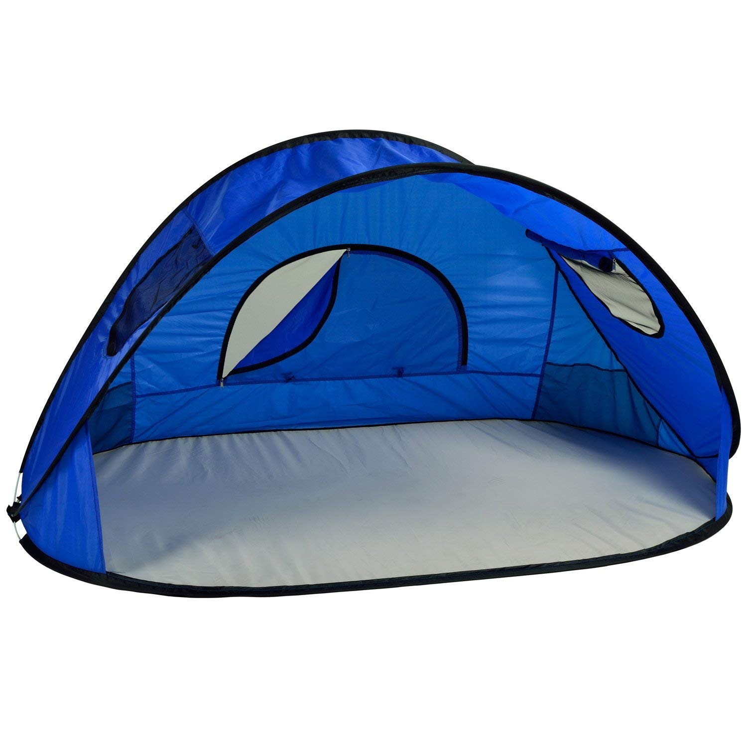 Picnic at Ascot Family Size Instant Easy Up Beach Tent Sun Shelter, Royal Blue [並行輸入品] B07R4W12DD