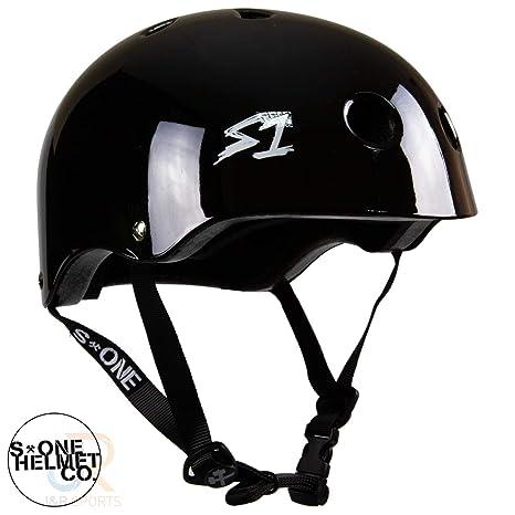 Black Gloss Derby s-one s1 Certified Multiple Impact S-1 Mini Lifer Helmet