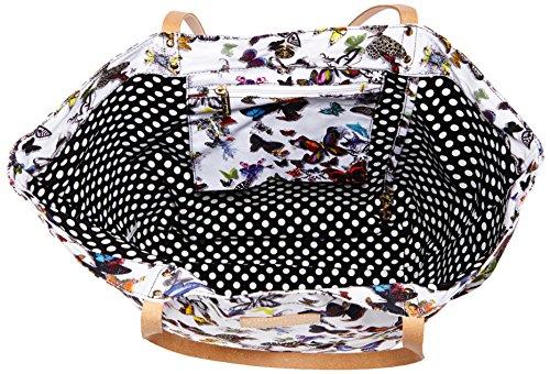 Cabas 1 Blanc 3f08 Papillon Christian Lacroix Eden Multicolore t8pcwtF4q
