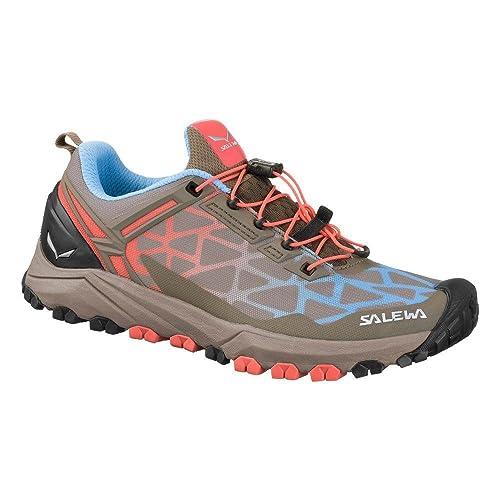 SALEWA WS Multi Track, Stivali da Escursionismo Donna, Grigio (Cinder/Hot Coral 0726), 40.5 EU