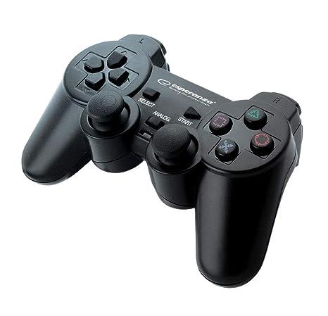 Esperanza EG106 Palanca de mando PC,Playstation 2,Playstation 3 Negro mando y volante