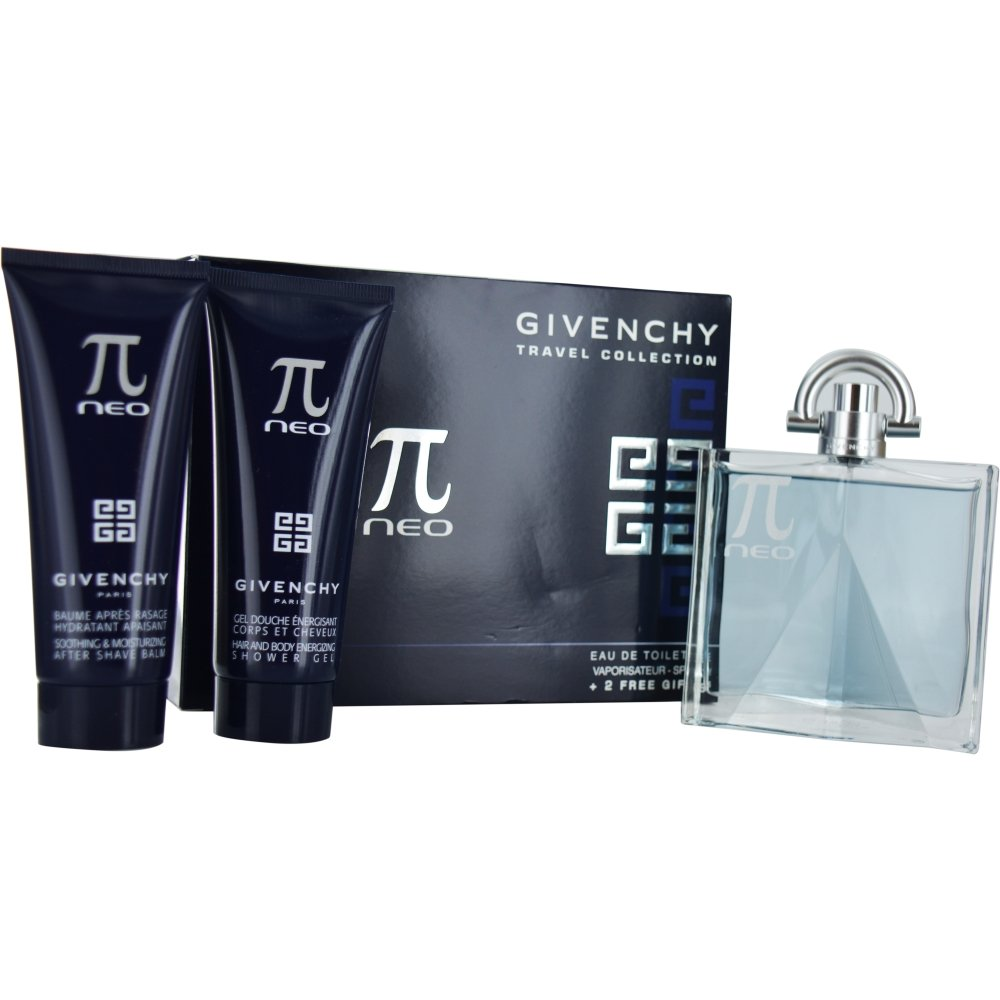 Givenchy Pi Neo Set (Eau de Toilette Spray, Free Aftershave Balm, Hair and Body Shower Gel)