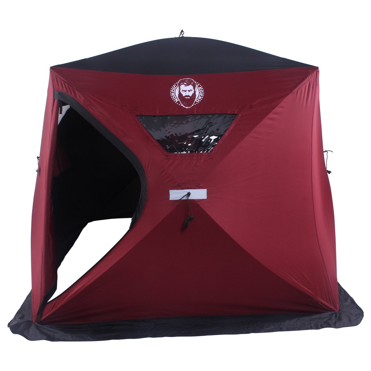 Nordic Legend 3 Man Wide Bottom Ice Shelter by Nordic Legend