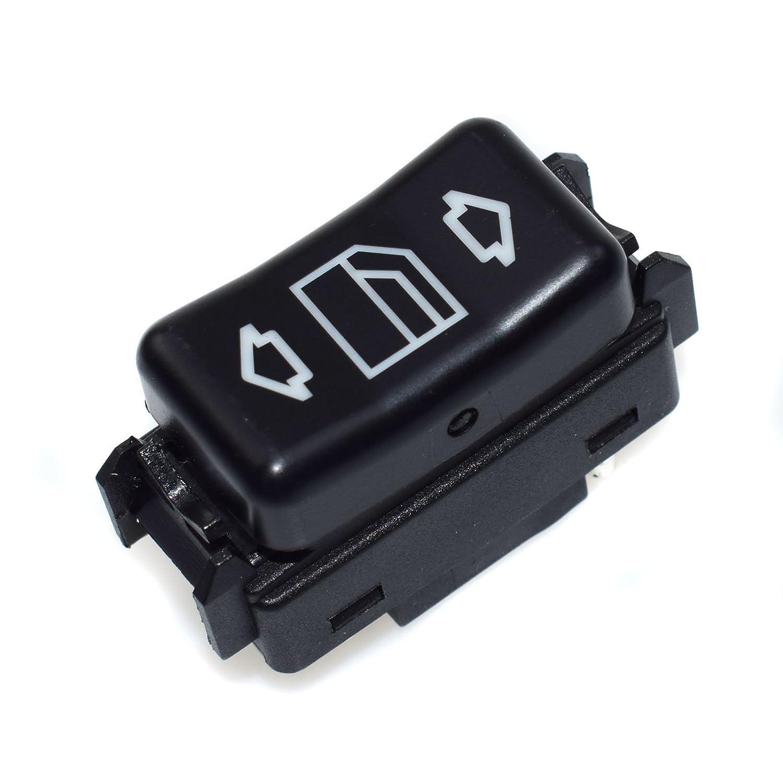 Power Window Switch 1248204610 NEW For 190E 260E 300SE 420SEL Left 1986 1987 1988 1989 1990 1991 1992 1993 Rejog4 Auto