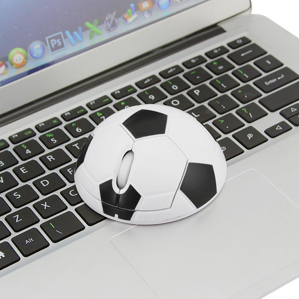 2.4GHz Wireless Mouse Sport World Cup Football Soccer Shape Creative Ergonomic Design Cordless Optical Mice PC Computer Laptop