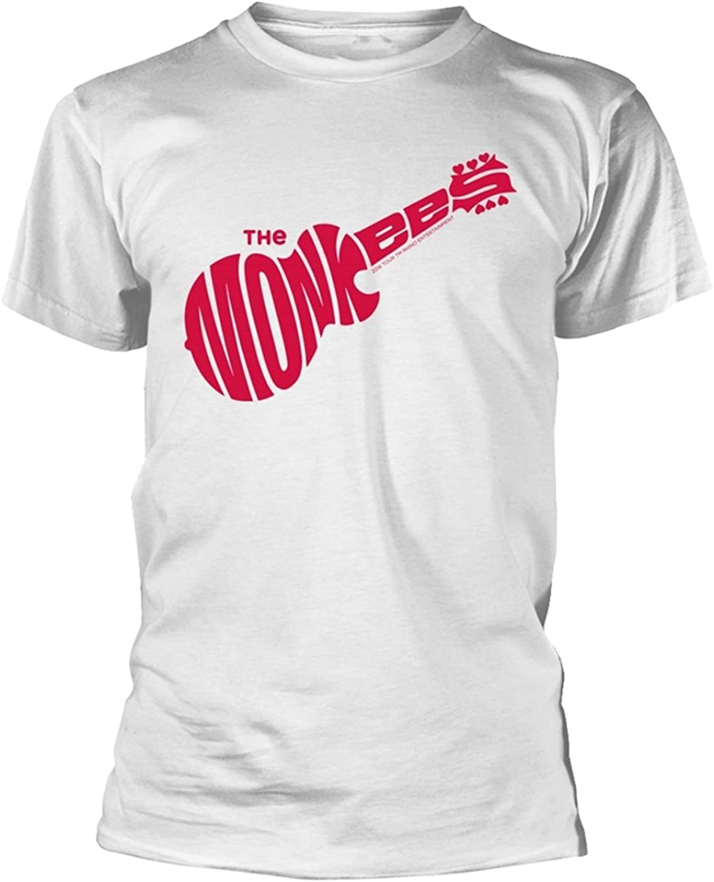 The Monkees /'Guitar Logo/' NEW /& OFFICIAL! T-Shirt White