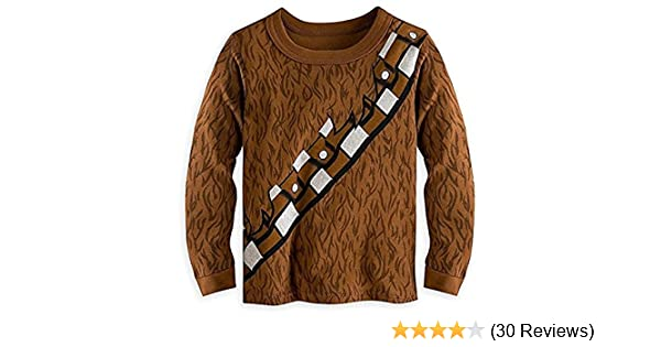 Amazon.com: Disney Store Deluxe Chewbacca Chewie Pajama PJ Star Wars: Clothing