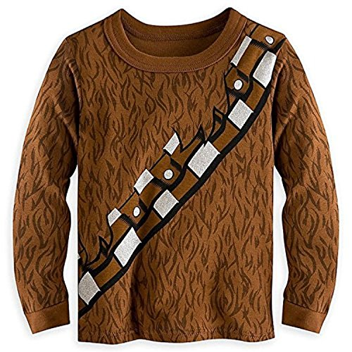 Disney Store Deluxe Chewbacca Chewie Pajama PJ Star Wars Size: Large 4