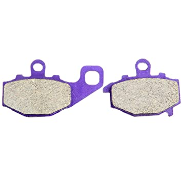 SCITOO Kevlar Carbon Fiber Brake Pads Fit for 91 92 93 94 95 96 97 98 99 00 01 02 03 04 05 06 07 08 09 11 12 Honda,02 03 04 05 06 07 08 09 11 12 Suzuki,03 04 05 06 07 08 09 11 12 Yamaha