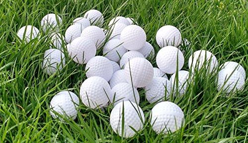 SquareTiger Practice Golf Balls - Plastic, Hollow, White (1000 Pack) by SquareTiger (Image #2)