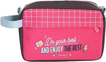 Estuche grande - Do your best and enjoy the rest: Amazon.es: Oficina y papelería