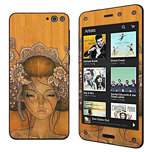 Seeme Full Body Vinyl Decal Protective Sticker Skin for Amazon Fire Phone (Geisha)