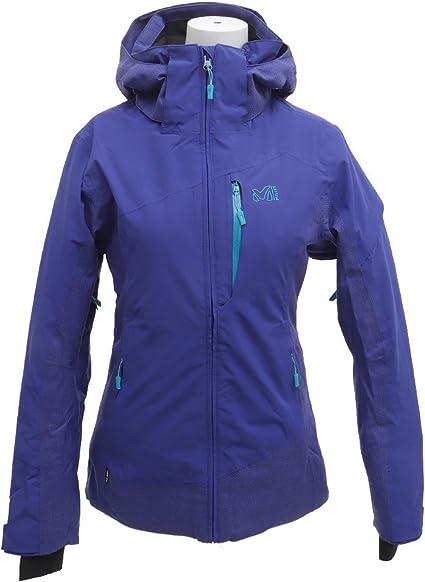 blouson de ski violet femme taille 3