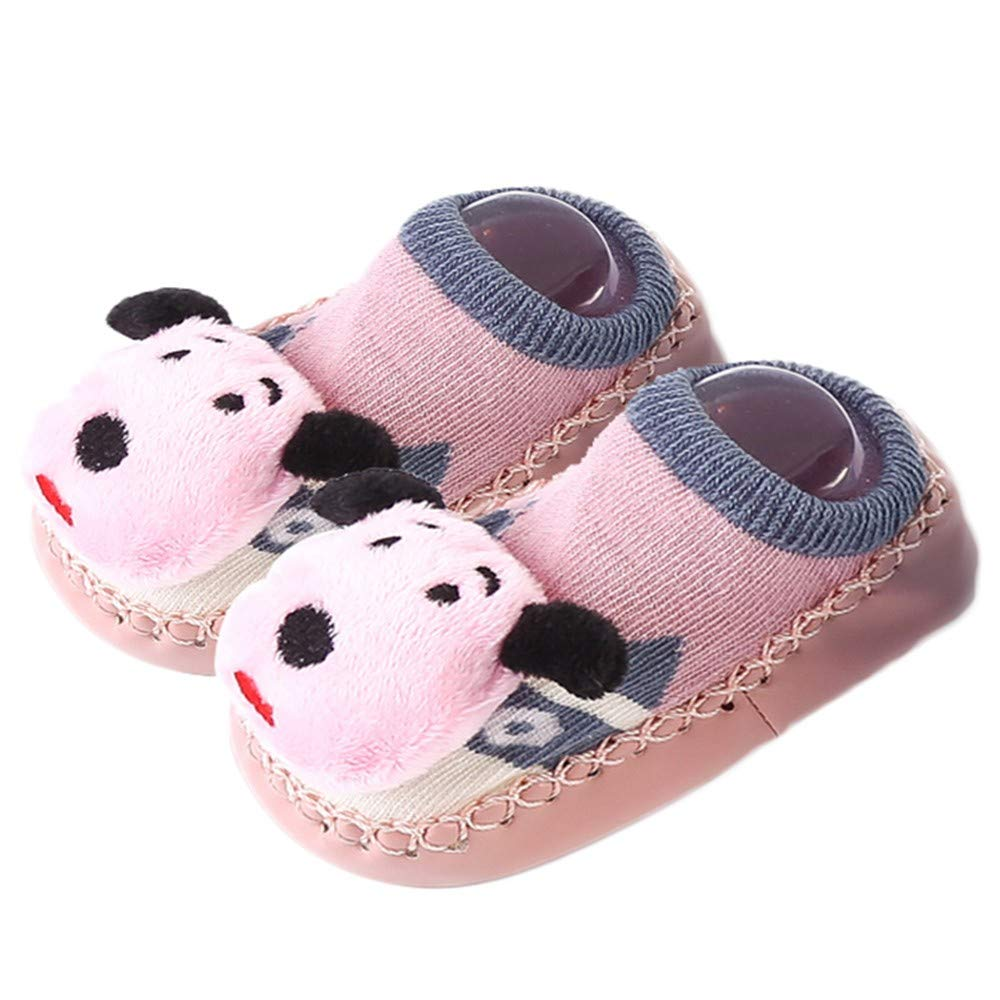 SMALLE ◕‿◕ Clearance,Kids Infant Toddler Baby Boys Girls Cartoon Animals Anti-Slip Knitted Warm Socks