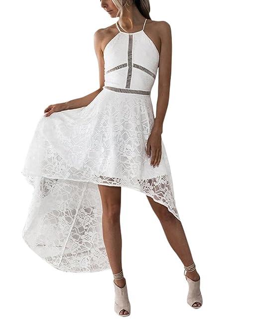 Vestidos De Fiesta Con Encaje Vestidos Largos Vestidos Para Playa Vestidos De Noche Elegantes Para Mujer: Amazon.es: Ropa y accesorios