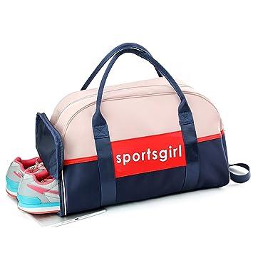 Uniuooi - Bolsa de natación para Gimnasio, Impermeable, con Compartimento para Zapatos