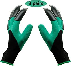 yofit Garden Genie Gloves,gloves with claws (Right + Left Claw 3 pair)