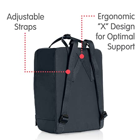 Amazon.com: Fjallraven Kanken Backpack - Black: Fjallraven: Sports & Outdoors