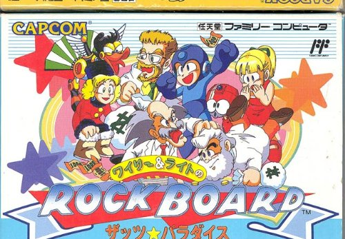 Nintendo Wily and Light's Rockboard, That's Paradise, Fam...