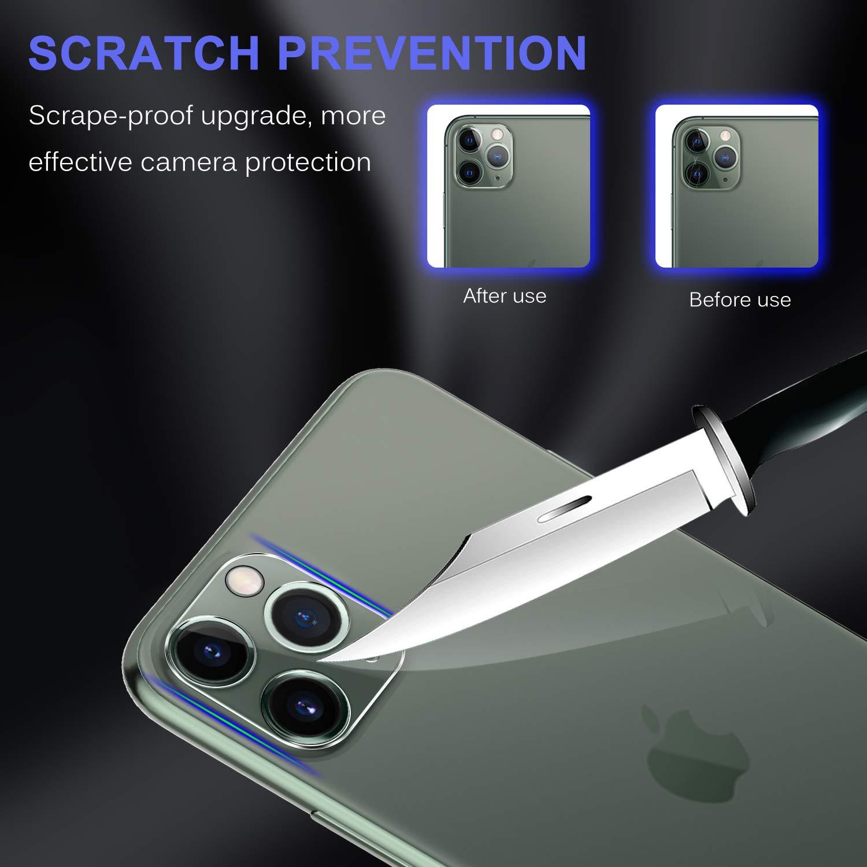 Luibor para iPhone 11 Pro MAX//iPhone 11 Pro Protector de Lente de c/ámara Paquete de 3 Vidrio Templado de Alta definici/ón Resistente a ara/ñazos 5.8 o 6.5