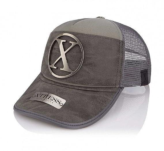 Xtress Exclusive Gorra gris de diseño para hombre y mujer.: Amazon ...