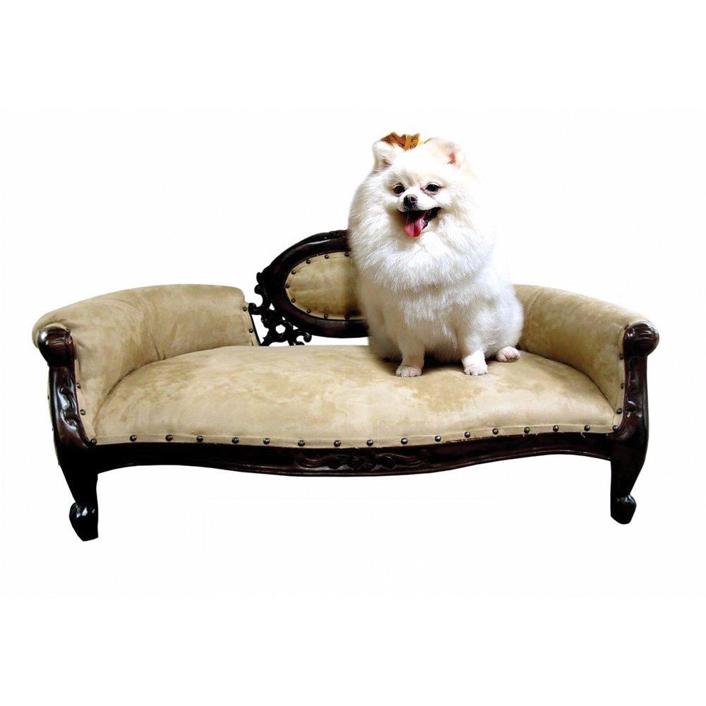 D-Art Collection Mahogany French Dolat Pet Sofa