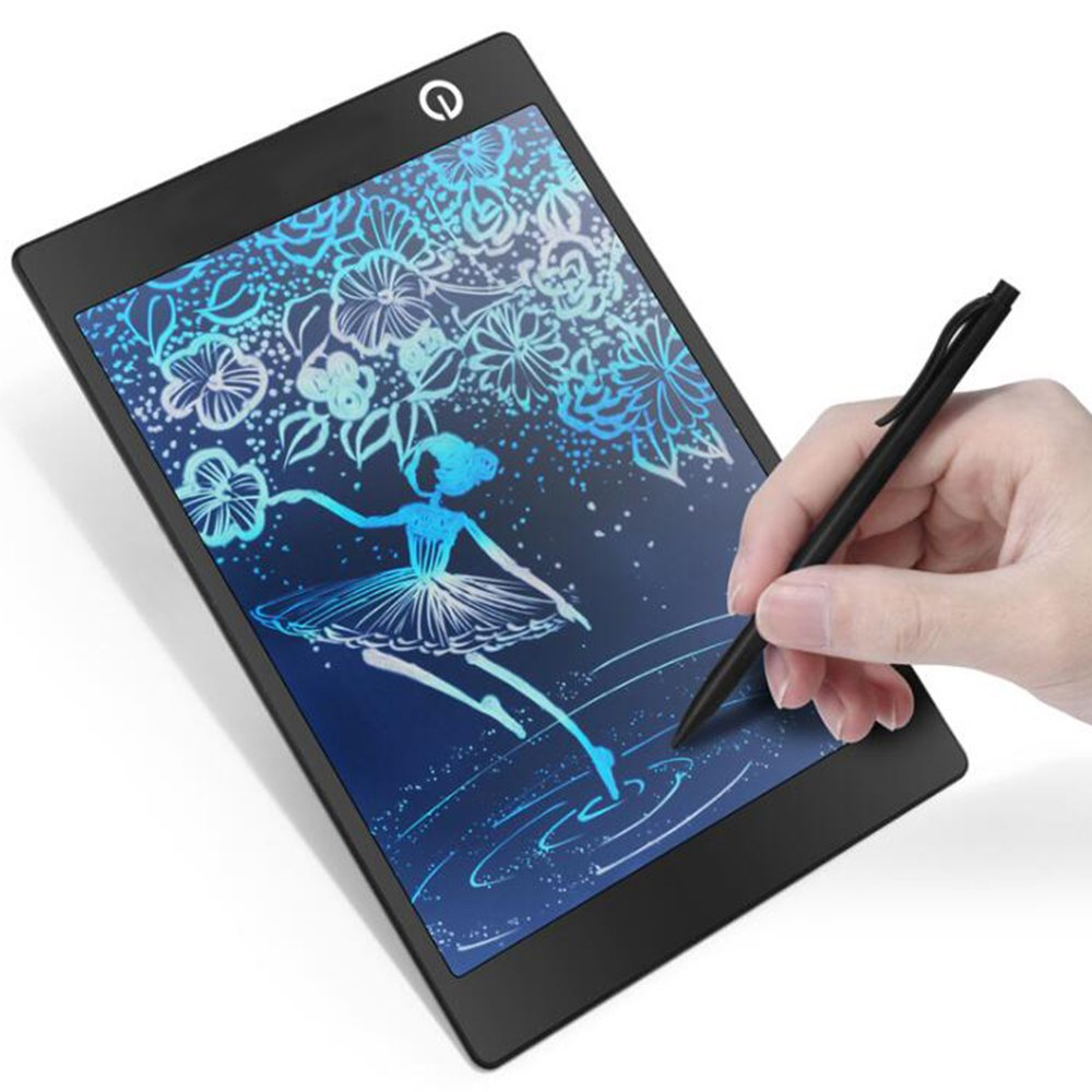 LCD Writing Tablet/,OfficeLead Colorful 9.7 Inch Message Board/ Screen Handwriting Pad Paperless Drawing Writing Tool Graffiti Board with Stylus and Stand for Kids, Family Memo, Office Writing