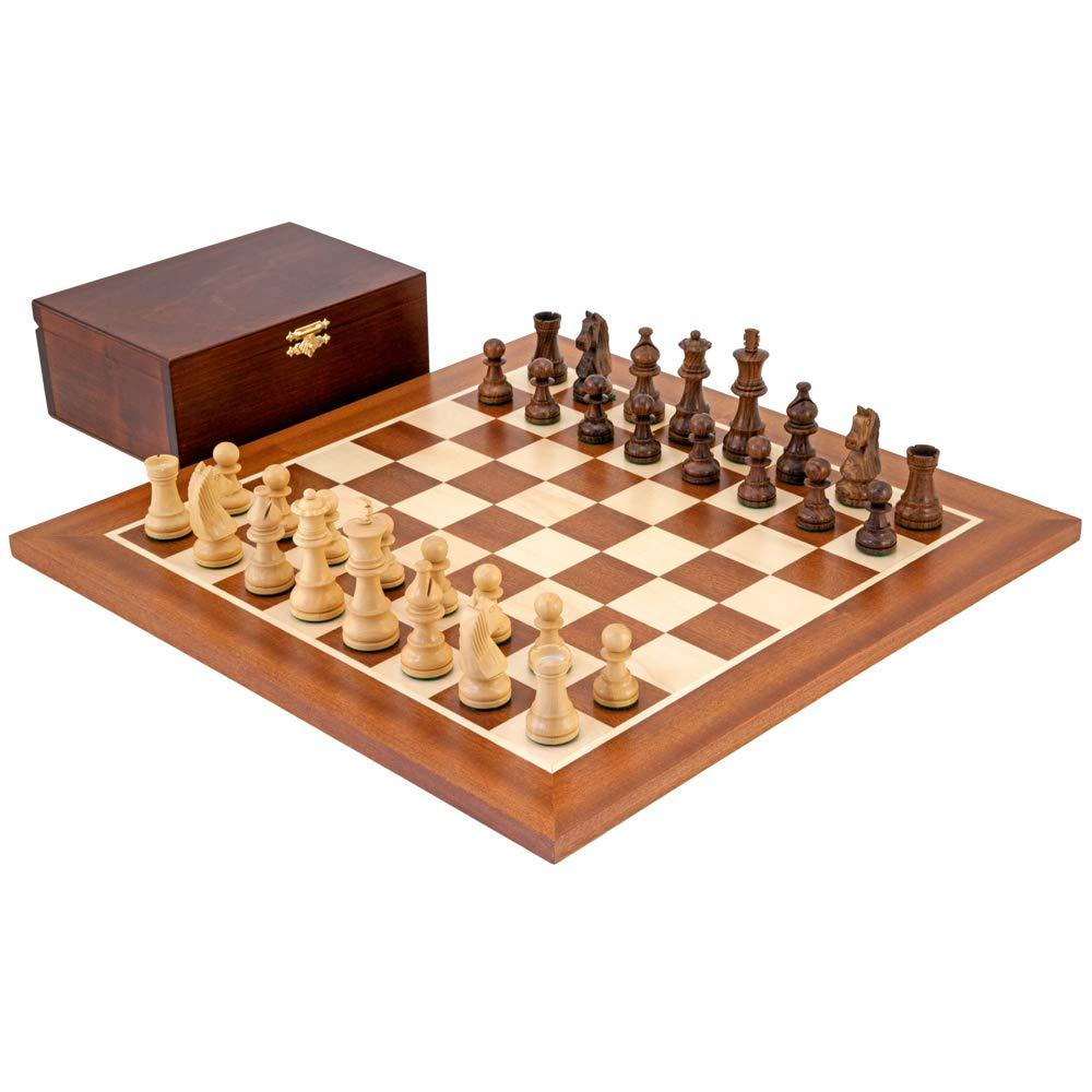 The Unten Kopf Sheesham Meisterschaft Schachspiel