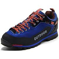 Weweya Hombres Botas de Senderismo Zapatos de Trekking