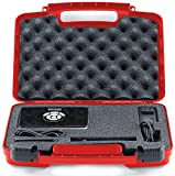 Life Made Better Storage Organizer - Compatible with RIF6 CUBE, LG MiniBeam, Syhonic S8, Pico Projector, InFocus IN1146 And Accessories - Durable Carrying Case - Red
