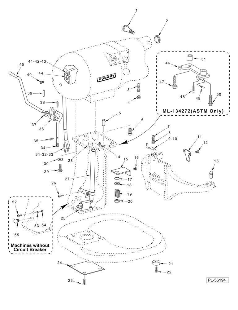 Amazon Com Hobart 00 937432 Hobart Arm Bowl Lift Pm N50 00