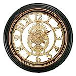 Kiera Grace Decorative Round wall-clocks, Bronze 5