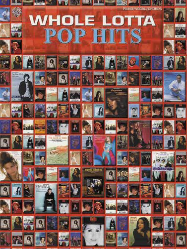 Read Online Whole Lotta Pop Hits: Piano/Vocal/Chords pdf