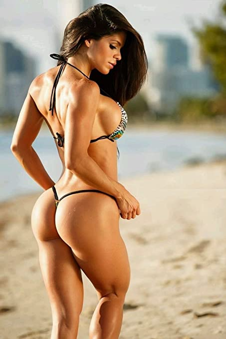 Tomorrow Sunny 099 Free Michelle Lewin Sexy Fitness Bodybuilder Model Wall Silk Poster 24x36inch