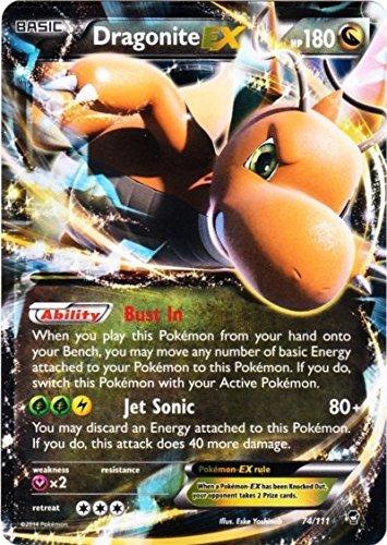 Pokemon Dragonite Ex Furious Fists 74/111