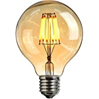 Bombilla Edison Led,Elfeland®Bombilla LED Retro E27 6W Bombilla